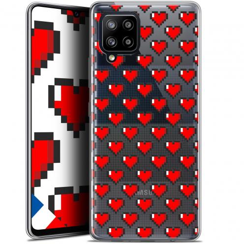 """Carcasa Gel Extra Fina Samsung Galaxy A42 5G (6.6"""") Love Pixel Art"""