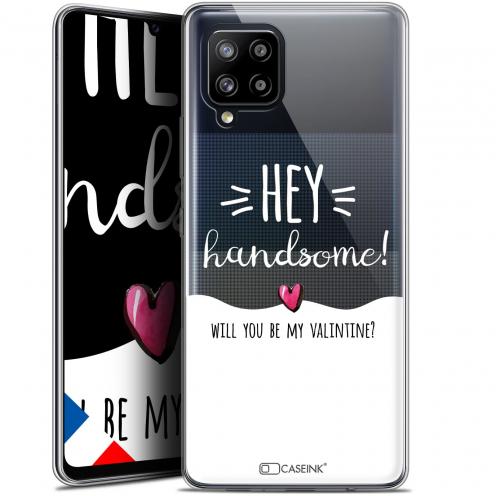 "Carcasa Gel Extra Fina Samsung Galaxy A42 5G (6.6"") Love Hey Handsome !"