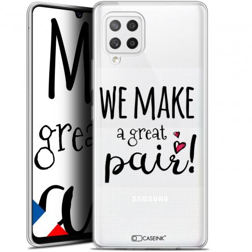 "Carcasa Gel Extra Fina Samsung Galaxy A42 5G (6.6"") Love We Make Great Pair"
