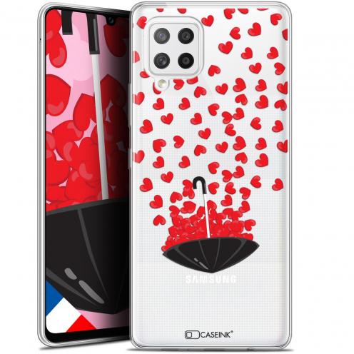 "Carcasa Gel Extra Fina Samsung Galaxy A42 5G (6.6"") Love Parapluie d'Amour"