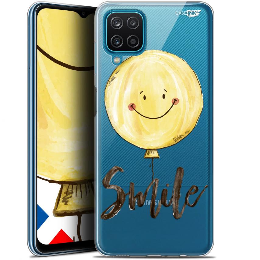 """Carcasa Gel Extra Fina Samsung Galaxy A12 (6.5"""") Design Smile Baloon"""