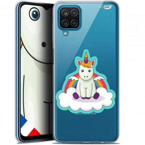 """Carcasa Gel Extra Fina Samsung Galaxy A12 (6.5"""") Design Bébé Licorne"""
