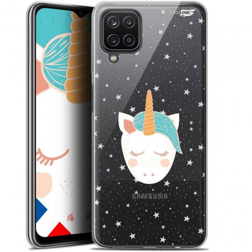 "Carcasa Gel Extra Fina Samsung Galaxy A12 (6.5"") Design Licorne Dors"