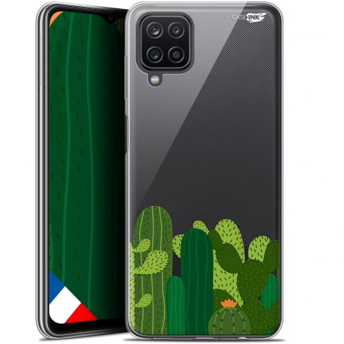 "Carcasa Gel Extra Fina Samsung Galaxy A12 (6.5"") Design Cactus"