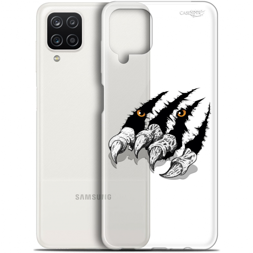 "Carcasa Gel Extra Fina Samsung Galaxy A12 (6.5"") Design Les Griffes"