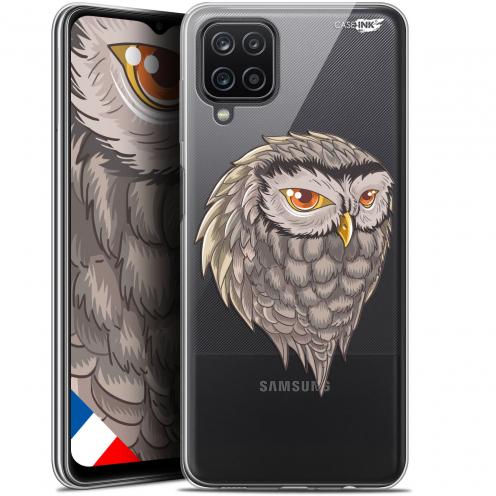 """Carcasa Gel Extra Fina Samsung Galaxy A12 (6.5"""") Design Hibou Draw"""
