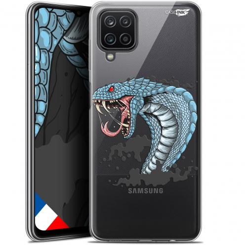 "Carcasa Gel Extra Fina Samsung Galaxy A12 (6.5"") Design Cobra Draw"