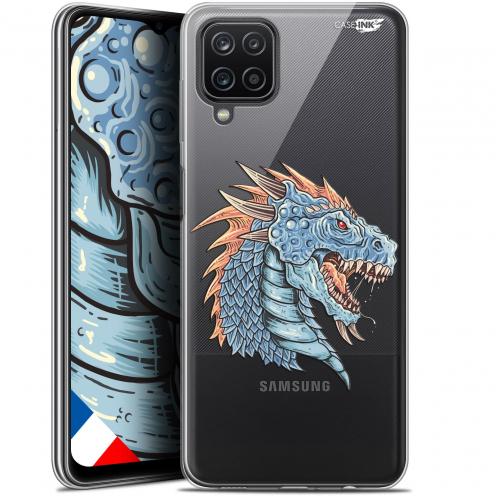 """Carcasa Gel Extra Fina Samsung Galaxy A12 (6.5"""") Design Dragon Draw"""