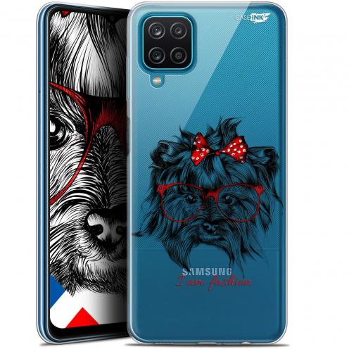 """Carcasa Gel Extra Fina Samsung Galaxy A12 (6.5"""") Design Fashion Dog"""