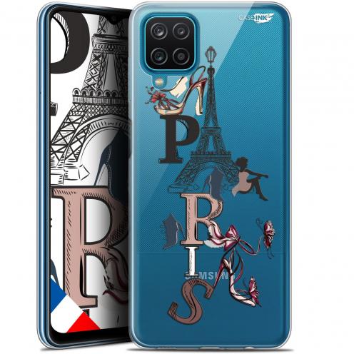 """Carcasa Gel Extra Fina Samsung Galaxy A12 (6.5"""") Design Stylish Paris"""
