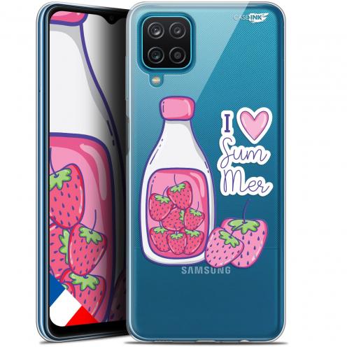 "Carcasa Gel Extra Fina Samsung Galaxy A12 (6.5"") Design Milky Summer"