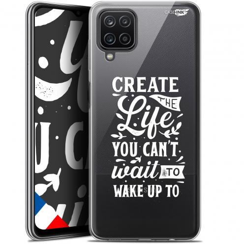 "Carcasa Gel Extra Fina Samsung Galaxy A12 (6.5"") Design Wake Up Your Life"