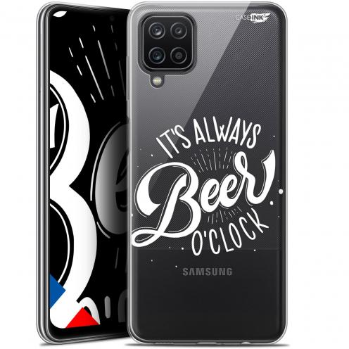 "Carcasa Gel Extra Fina Samsung Galaxy A12 (6.5"") Design Its Beer O'Clock"