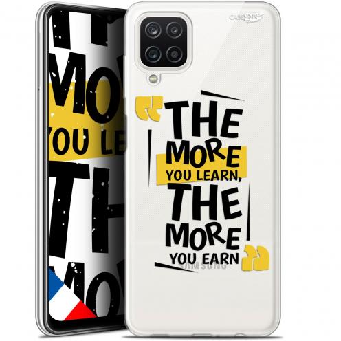 "Carcasa Gel Extra Fina Samsung Galaxy A12 (6.5"") Design The More You Learn"