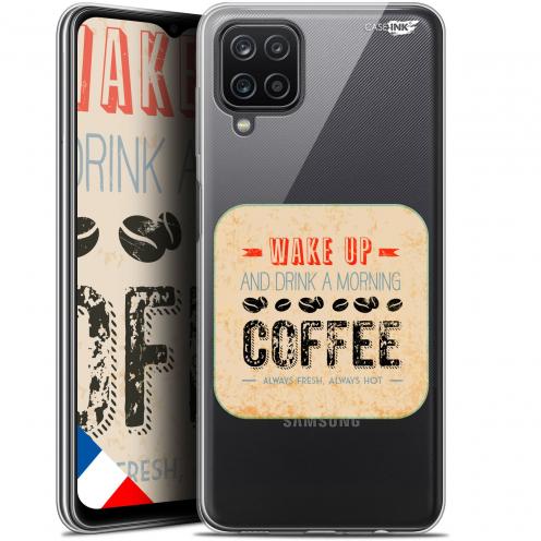 "Carcasa Gel Extra Fina Samsung Galaxy A12 (6.5"") Design Wake Up With Coffee"