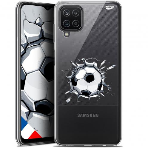 """Carcasa Gel Extra Fina Samsung Galaxy A12 (6.5"""") Design Le Balon de Foot"""