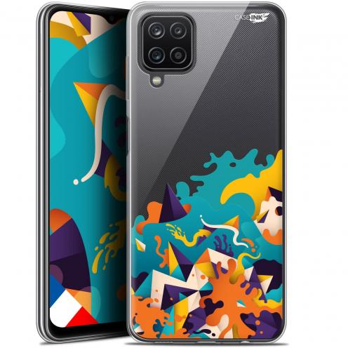 "Carcasa Gel Extra Fina Samsung Galaxy A12 (6.5"") Design Les Vagues"