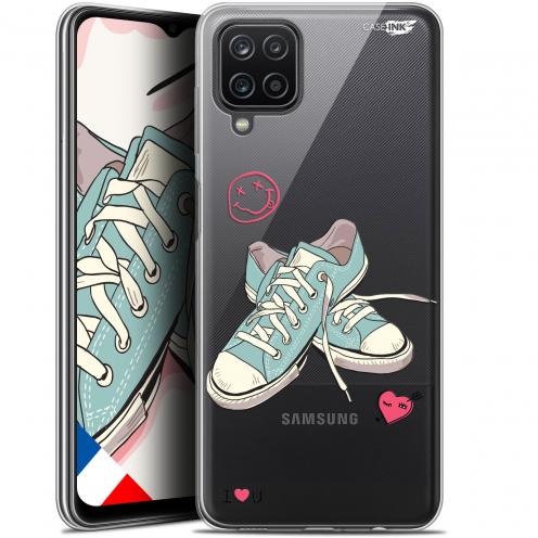 "Carcasa Gel Extra Fina Samsung Galaxy A12 (6.5"") Design Mes Sneakers d'Amour"