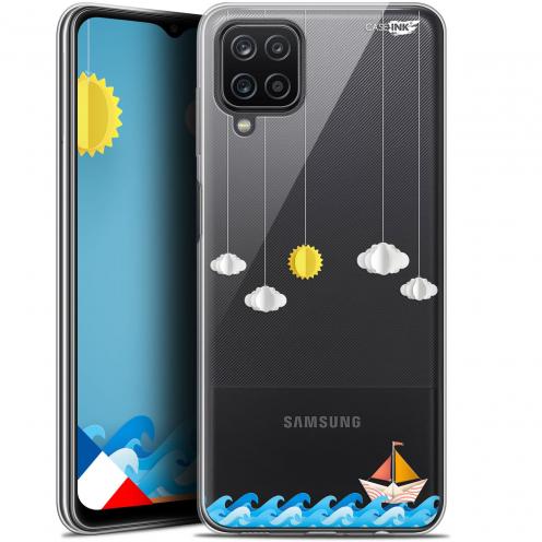 "Carcasa Gel Extra Fina Samsung Galaxy A12 (6.5"") Design Petit Bateau en Mer"
