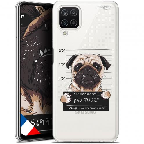 "Carcasa Gel Extra Fina Samsung Galaxy A12 (6.5"") Design Beware The Puggy Dog"