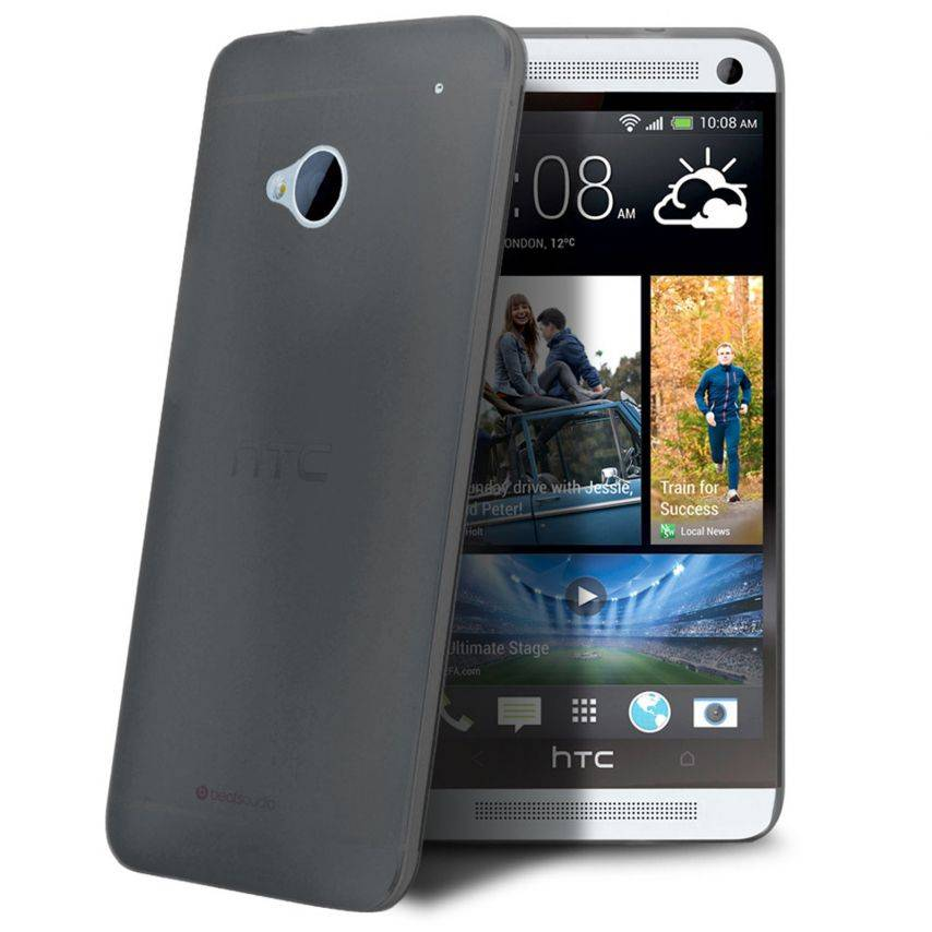 Coque Ultra Fine 0.3mm Frost HTC One Noire