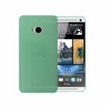 Coque Ultra Fine 0.3mm Frost HTC One Verte