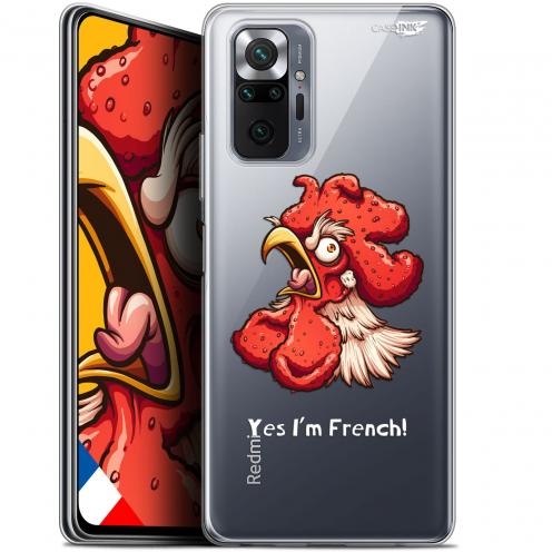"Carcasa Gel Extra Fina Xiaomi Redmi Note 10 PRO (6.7"") Design I'm French Coq"