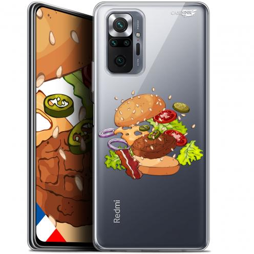 "Carcasa Gel Extra Fina Xiaomi Redmi Note 10 PRO (6.7"") Design Splash Burger"