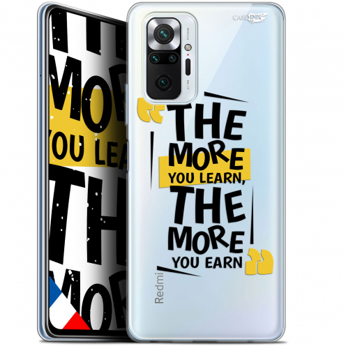 "Carcasa Gel Extra Fina Xiaomi Redmi Note 10 PRO (6.7"") Design The More You Learn"