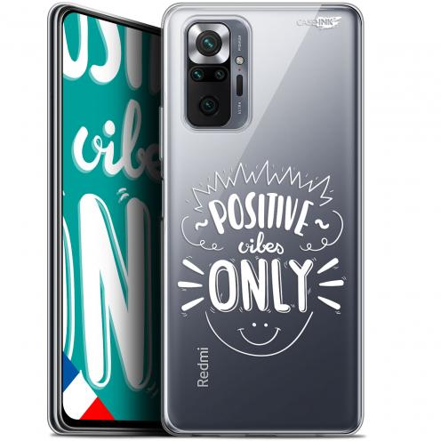 "Carcasa Gel Extra Fina Xiaomi Redmi Note 10 PRO (6.7"") Design Positive Vibes Only"