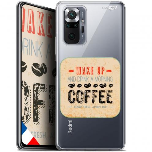 "Carcasa Gel Extra Fina Xiaomi Redmi Note 10 PRO (6.7"") Design Wake Up With Coffee"