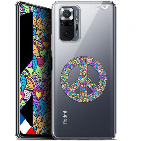 "Carcasa Gel Extra Fina Xiaomi Redmi Note 10 PRO (6.7"") Design Peace And Love"