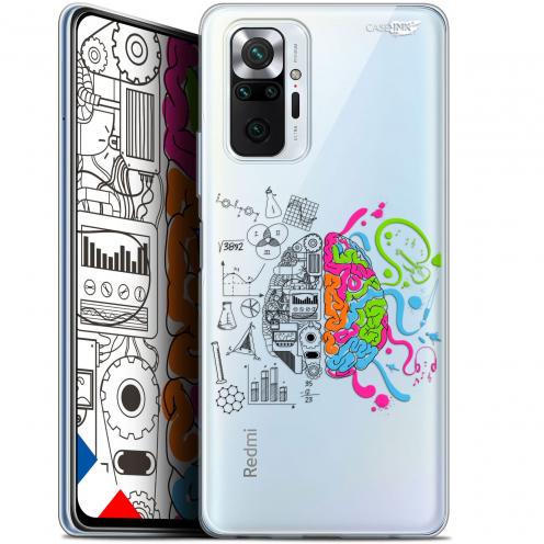 "Carcasa Gel Extra Fina Xiaomi Redmi Note 10 PRO (6.7"") Design Le Cerveau"