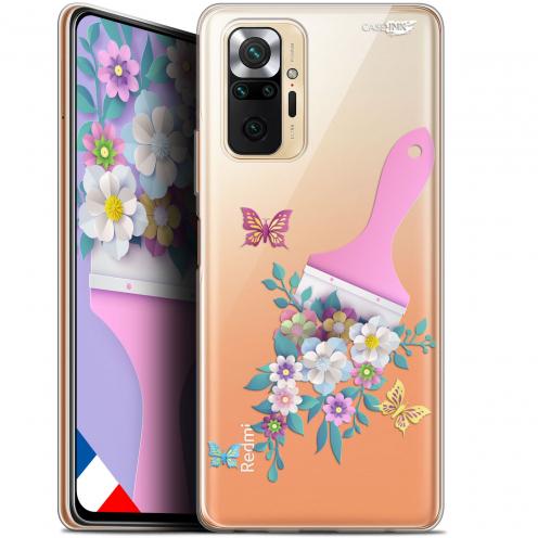 """Carcasa Gel Extra Fina Xiaomi Redmi Note 10 PRO (6.7"""") Design Pinceau à Fleurs"""