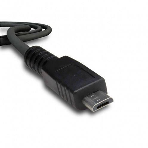 Câble de synchronisation et transfert USB à Micro USB Noir