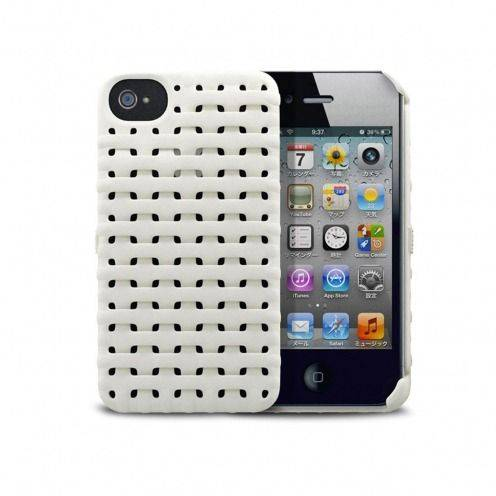 Casco Freshfiber® Weave iPhone 4S/4 Blanco
