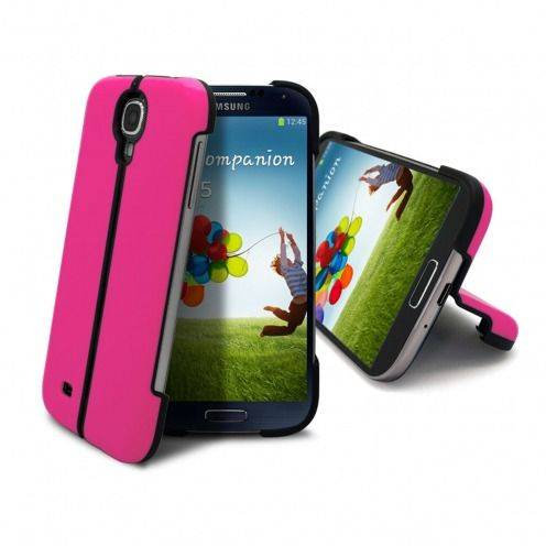Carcasa Sport Line Stand Galaxy S4 Rosa