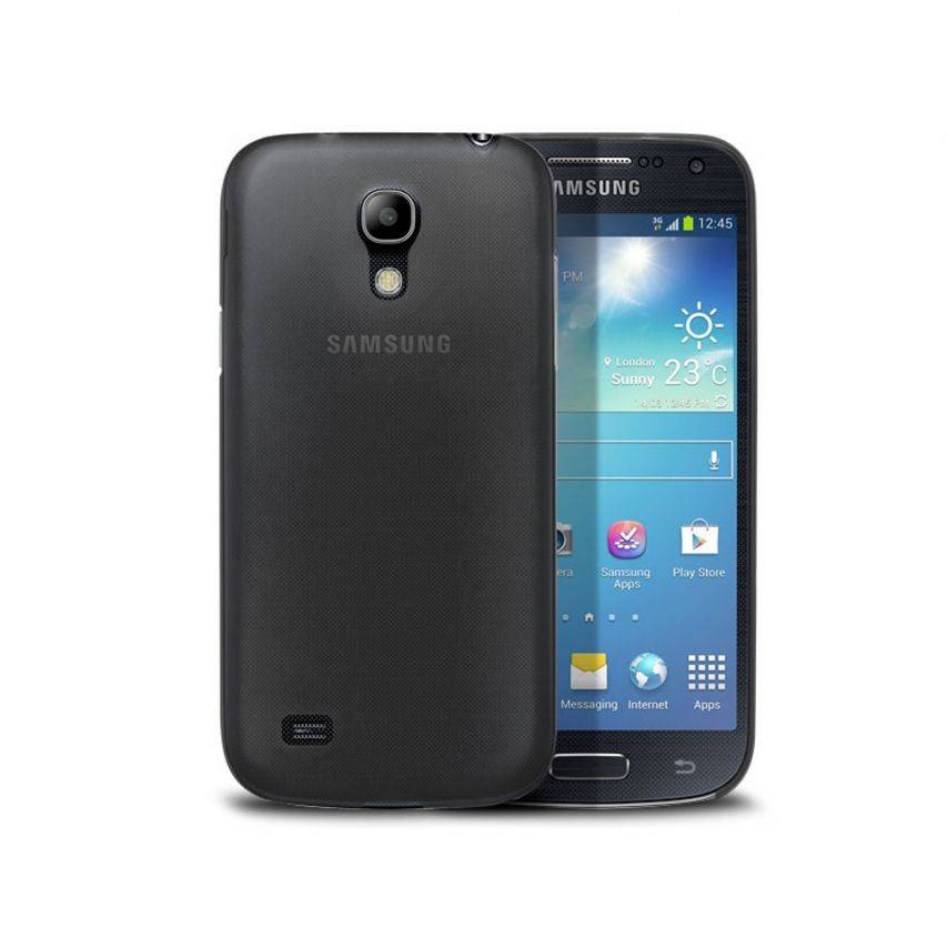 Funda Ultra fino 0.3mm Frost Samsung Galaxy S4 mini negro