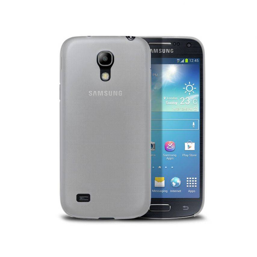 Funda Ultra fino 0.3mm Frost Samsung Galaxy S4 mini transparente