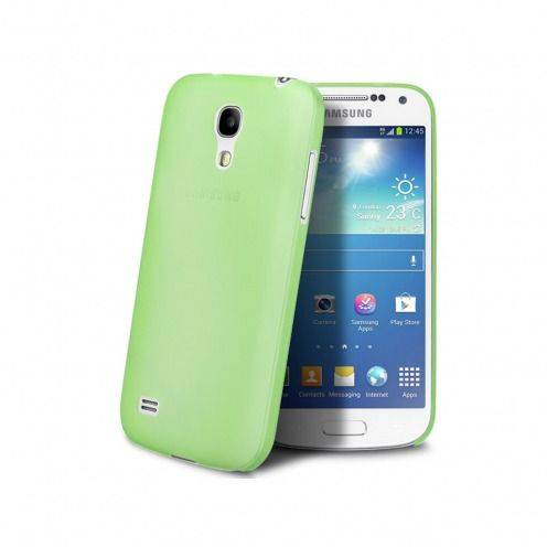 Funda Ultra fino 0.3mm Frost Samsung Galaxy S4 mini verde