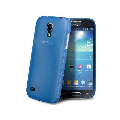 Funda Ultra fino 0.3mm Frost Samsung Galaxy S4 mini azul