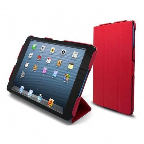 Casco iPad Mini ® Ultra ligero Smart Cover Stand Rojo