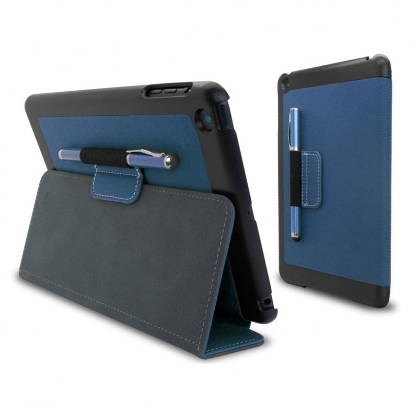 Casco Denim-tejido Club iPad Mini Azul