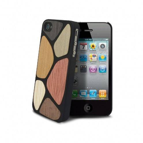 Caso Bagheera Patchwork para iPhone 4/4s