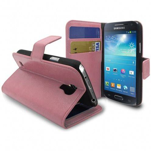 Smart Cover Samsung Galaxy S4 mini rosa cuero marmolado