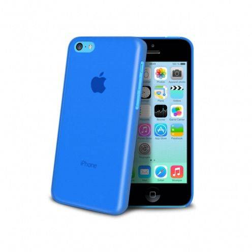 Carcasa Ultra Fina 0.3 mm Frost iPhone 5C Azul