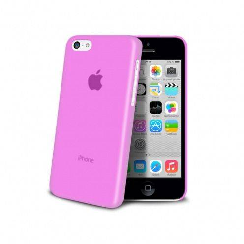 Carcasa Ultra Fina 0.3 mm Frost iPhone 5C Rosa