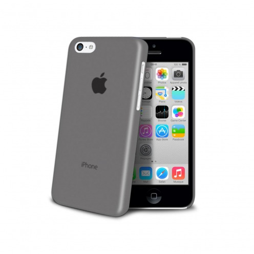 Shell Ultra fino 0.3mm Frost iPhone 5C negro