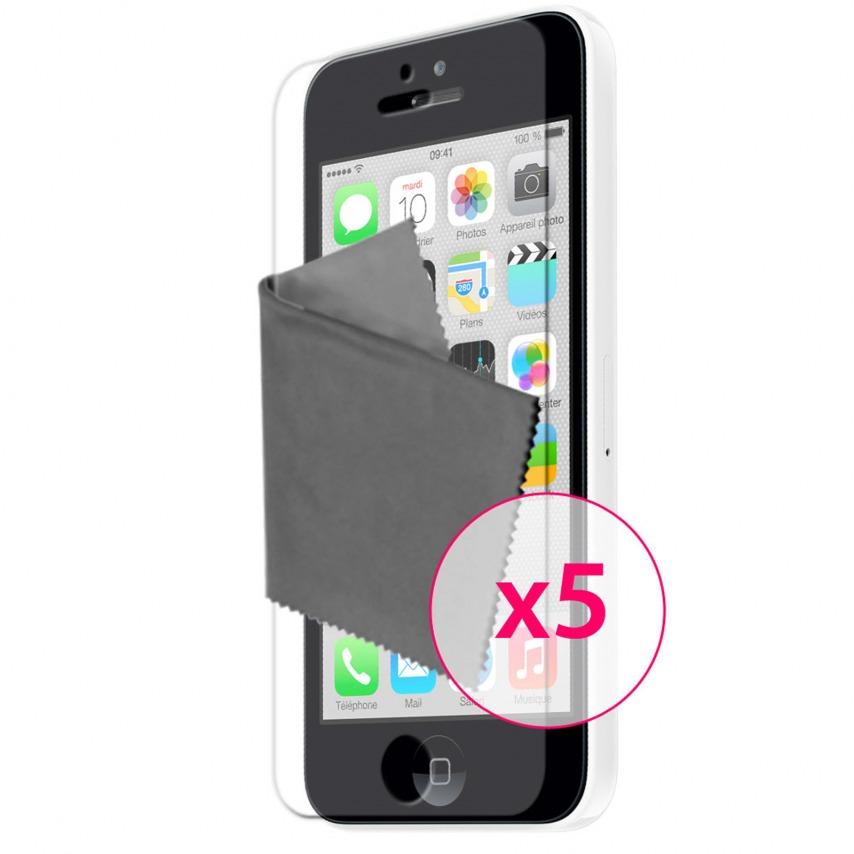 Películas de protección iPhone 5C Clubcase ® HQ 5