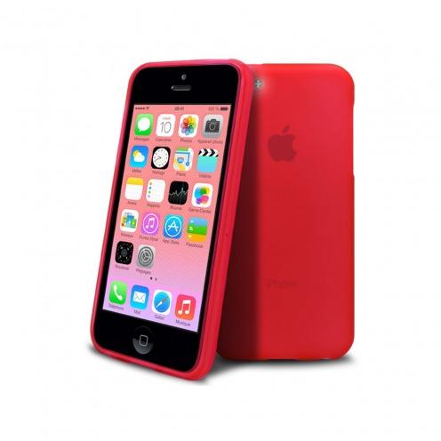 Casco IPhone 5C® Frost Extra Fino Rojo